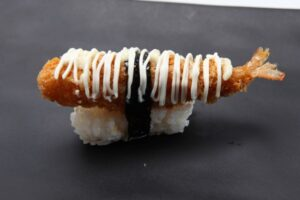Crumbed Fried Prawn sushi