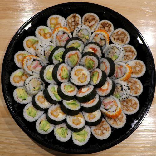 mix sushi platter in kobesushi